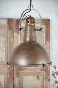 Taklampa - Industri - Brun Metall - 38 cm - www.frokenfraken.se