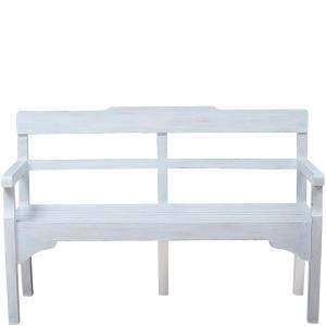 Miljögården Träsoffa - Vintage White - 140 cm