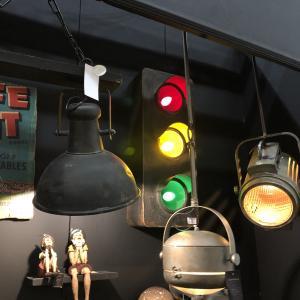 Vägglampa - Trafikljus - 69 x 28 cm - www.frokenfraken.se