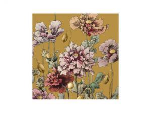 Servett - Antoinette Guld - 33 x 33 cm - www.frokenfraken.se