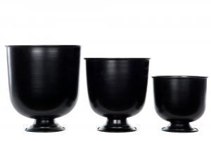 Kruka - Pokal - Svart - 16 x Ø15.5 cm - www.frokenfraken.se