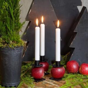 Ljushållare - Ljusstake Kvalité - Spik för frukt - 6 x 7 cm - www.frokenfraken.se