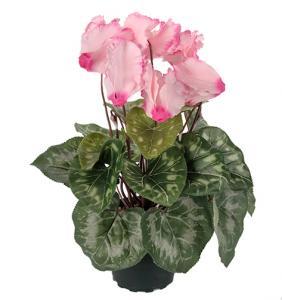 Mr Plant Cyklamen Rosa - Konstväxt - 32 cm
