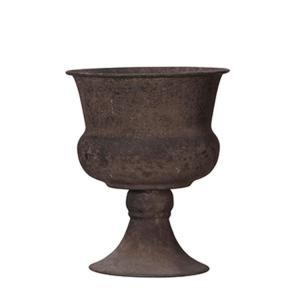Kruka - Pokal - Rost - 15 x 19 cm - www.frokenfraken.se
