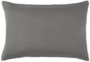 Kuddfodral Linne - Thunder Grey - 40 x 60 cm - www.frokenfraken.se