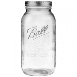 Ball® Ball Mason jar - Half Gallon - Glasburk