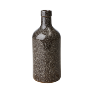 Flaska - Svart/Brun - Ø8 x 20 cm - www.frokenfraken.se