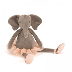 Brigbys Leksaker Gosedjur - Elefant - Dancing Darcey - 33 cm