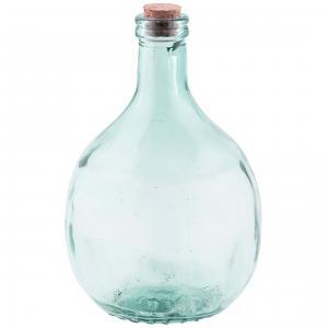 Glasflaska - Terrarium - 5L - Set - 21.2 x 21.2 x 6.1 cm - www.frokenfraken.se