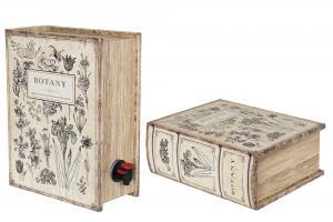 Vinbox - Boklåda - Botany - 26 x 20 x 10 cm - www.frokenfraken.se