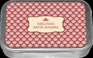 """Pastiller - """"Världens Bästa Mamma"""" - Apelsin - www.frokenfraken.se"""