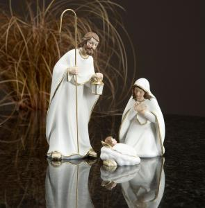 Figurer - Jesusbarnet, Josef & Maria - 6-19 cm - www.frokenfraken.se