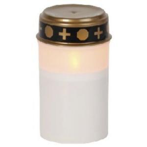 Star Trading Gravljus - Batteriljus LED - 12 x 7 cm - Timer