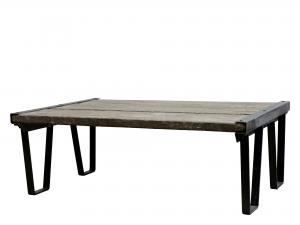 Soffbord - Återvunnet trä/Natur - 34 x 75 cm - www.frokenfraken.se