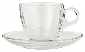 Kaffekopp - Glas - 140ml - 7,5 x Ø14,5 cm - www.frokenfraken.se