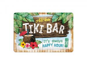 Plåtskylt - Tiki Bar - 20 x 30 cm - www.frokenfraken.se