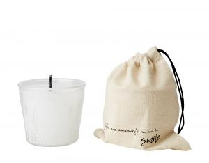 "Outdoor Candle - ""You are somebody´s reason to smile""- Ø11 cm - www.frokenfraken.se"