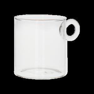 Kopp i glas - Ø8 x 9 cm - www.frokenfraken.se