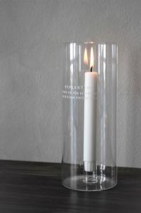 Maja Lykta - Reflektion - 10 x 25 cm - Barncancerfonden - www.frokenfraken.se