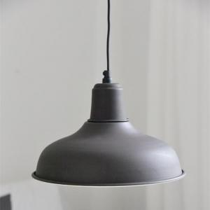 Taklampa - Metall - Matt Svart - 25 x Ø30 cm - www.frokenfraken.se