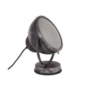 Vägg-/Bordslampa Spot Svart/Silver - 27 x 18 x 14 cm - www.frokenfraken.se