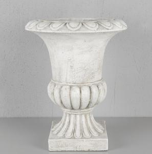 Kruka - Pokal Vit - 45cm - www.frokenfraken.se
