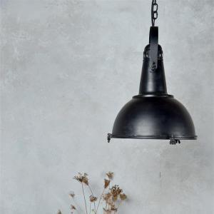 Taklampa - Industristil - Matt Svart - 38 x 33cm - www.frokenfraken.se