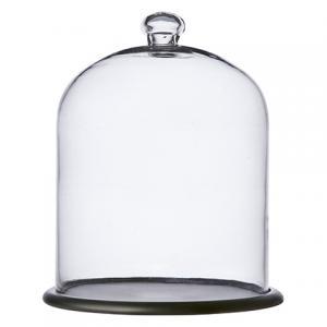 Glaskupa med fat - Ø30 x H38 cm - www.frokenfraken.se