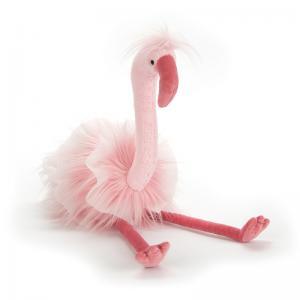 Brigbys Leksaker Gosedjur Flamingo - Flo Maflingo - 51 cm