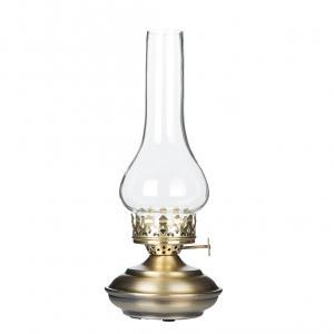 V.1 - Fotogenlampa - För värmeljus - Mässing - 27 cm - www.frokenfraken.se