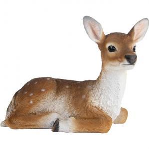 Rådjur - Bambi - Dekoration Liggande 29 x 32 cm - www.frokenfraken.se