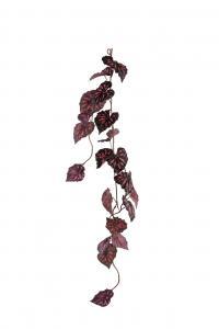 Rexbegonia girlang - Röd - 120 cm - www.frokenfraken.se