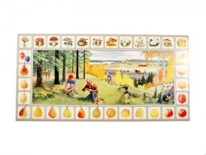 Bonad - skogen - 88 x 44 cm - www.frokenfraken.se