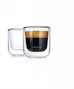 Espressoglas - NERO - 5,8 x 5,8 x 65 cm - www.frokenfraken.se