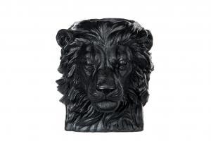 Kruka - Big Lion - Svart/Brun - 27 x 24 x 26 cm - www.frokenfraken.se