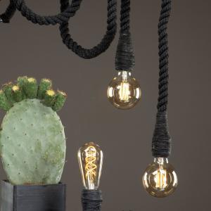 Lampa - Rep Svart - 150 cm - www.frokenfraken.se
