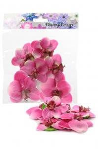 Phalaenopsis blomma 6 st - Rosa - - www.frokenfraken.se