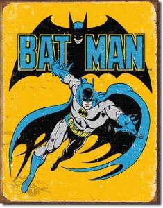 Batman - Retro Metallskylt - 32 x 41 cm - www.frokenfraken.se