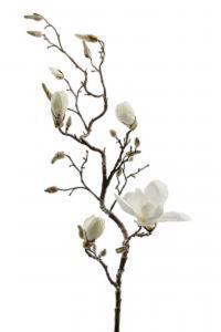 Magnolia - Vit - 135 cm - www.frokenfraken.se
