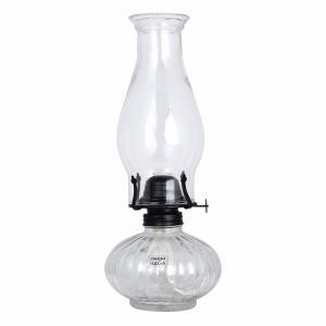 Fotogenlampa Glas/Grafit - 32,5 x Ø13 cm - www.frokenfraken.se