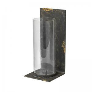 Väggljusstake - Cylinder Glas Industri - 33 x 15 cm - www.frokenfraken.se