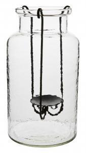 Vas - Med ljushållare - 35 x Ø20 cm - www.frokenfraken.se