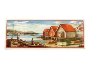 Bonad - båthus - 89 x 34 cm - www.frokenfraken.se