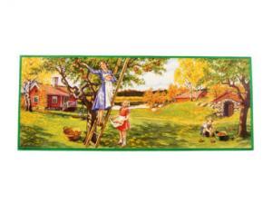 Bonad - plocka äpplen - 82 x 33 cm - www.frokenfraken.se