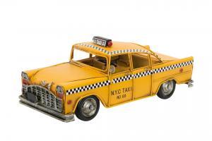 Taxibil Gul - 28 cm - www.frokenfraken.se