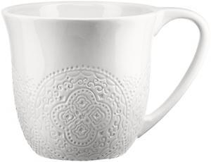 Orient mugg vit - Kaffekopp - 3 dl - www.frokenfraken.se