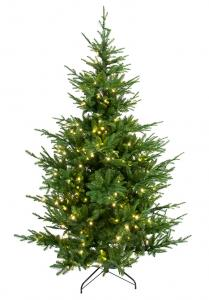 Julgran med belysning - Västerfjället - 150 cm - 200 lampor - www.frokenfraken.se