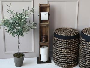Toapappershållare för golvet - Murstensform - 95 cm - www.frokenfraken.se