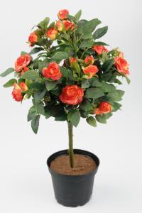 Ros - 8 st - Orange - 45 cm - www.frokenfraken.se
