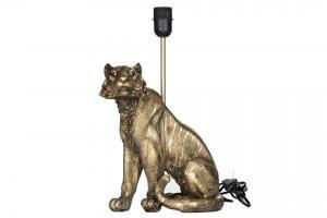 Lampfot - Tiger - Guld - 30 x 41 cm - www.frokenfraken.se